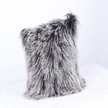 2018 gros fantaisie mongole agneau fourrure oreiller
