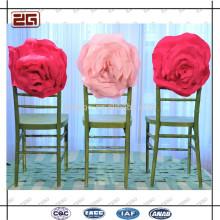 Differnt Farben erhältlich Elegant Hochzeit Blumen Stuhl Schärpe
