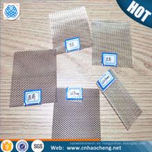 Malla de alambre / tela metálica tejida filtro de plata puro de la malla fina para el laboratorio