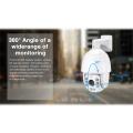 Автоматическое слежение за IP 20X зум starvis CCTV PTZ камера