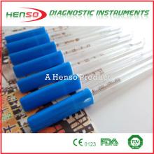 Henso clínico de mercúrio de vidro termômetros de axila oral