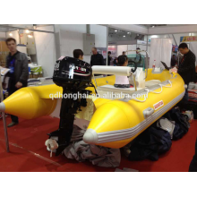 GFK-Schlauchboot Motor