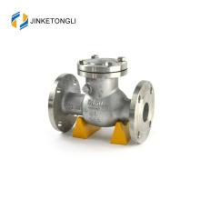 JKTLPC011 air compressor stainless steel flanged 2 inch check valve