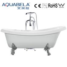 Großhandels-einfache Reinigung Bester verkaufender freistehender Bein-Wanne (JL623)