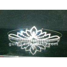 rhinestone crystal wedding crown