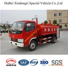 Caminhão Euro3 da água do caminhão do fogo de 6ton Dongfeng