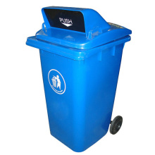 240 Liter Plastic Dustbin for Outdoor with Wheels (YW0029)