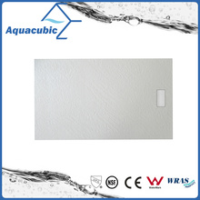 Sanitary Ware 900 * 800 Popular SMC Shower Tray Stone Effect Surface (ASMC9080S)