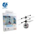 Flying inductive crystal heli ball with music light