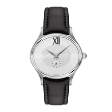 32 mm Simple montre femme en cuir noir