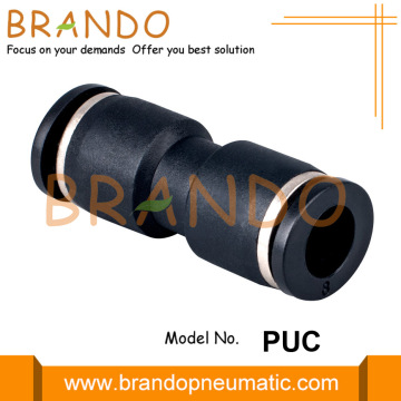 "1/8 ""1/4"" PUC Union Straight Pneumatic Hose Fittings"