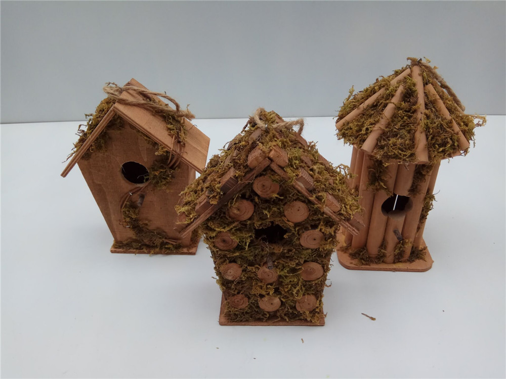 creative bird house hanging