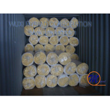Estructura de acero manta de lana de vidrio