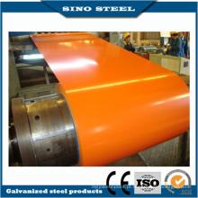 Cor PPGI Dx51d grau revestido PPGI bobina de aço