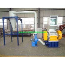 Sistema de armazenamento de triturador de plástico