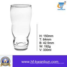High Quality Glass Cup Clear Glass Beer Mug Kb-Hn0318