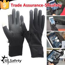 SRSAFETY Черная магическая трикотажная перчатка для смартфонов / сенсорных магических перчаток / Перчатка для смартфона