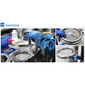 70*100*13mm RB7013UUCC0P5 standred sizecross roller slewing ring bearig