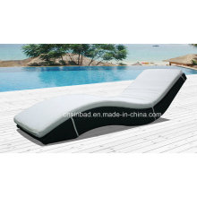 Outdoor Wicker Lounge for Relax with 5cm Thick Cushions & Aluminum Frame / SGS (7535-1)