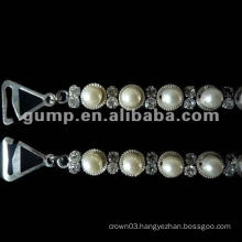 beaded bra straps with pearl ( GBRD0187)