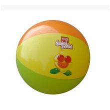 Bola de playa promocional, juguetes inflables del PVC para la publicidad