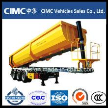 Cimc 3-Axle 30 ~ 35m3 Опрокидывающийся самосвальный полуприцеп с наименьшей ценой