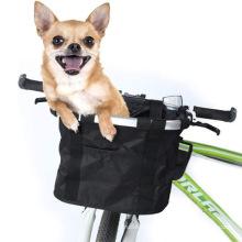 basket folding pet bag bike basket trailer carrier bike basket pet carrier for pet carrier bike
