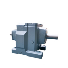 REDSUN R147 Series  helical speed reducers gearbox with 4~90KW AC motor