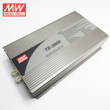 MEAN WELL UL CE CC 3 yrs 3000W aluminum case dc ac inverterTS-3000-224B