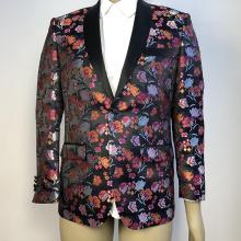 costume de mariage de banquet floral pour hommes