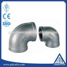 malleable cast iron threaded elbow