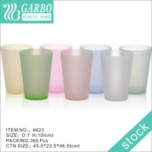 470ml Coupe d'eau en plastique colorée 8823
