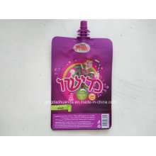 Plastic fruit Jelly Beverage Packaging Pouch with Spout