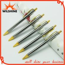 New Arrivals Promotional Shiny Slim Hotel Metal Ball Pen (BP0081)