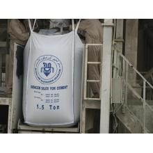 Bolsa de 1,5 toneladas para el embalaje del cemento