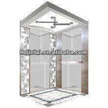OTSE fancy big mirror surface etching passenger elevator