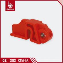 Dispositivo de bloqueo de seguridad de disyuntor para MCB con orificio de candado de 8 mm (osha-E09)