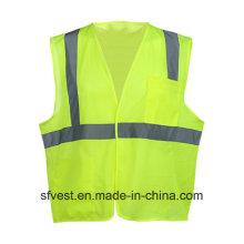 Chine Gilet respirant de sécurité en maille réfléchissante haute visibilité