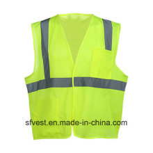 China High-Visibility Reflective Mesh Safety Breathable Vest