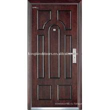 Стальные двери бронированные (JKD-227) стали деревянные наружные двери и бронированная дверь дизайн