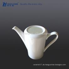 Plain White Arabic Coffee Pot