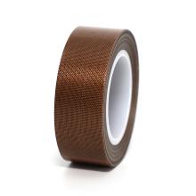 Non-stick brown PTFE fiberglass adhesive tape