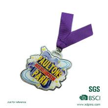 Kundenspezifischer Offsetdruck-Edelstahl-Andenken-Medaillen-Wettbewerbs-Preis