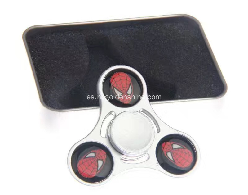 Metal y Epoxy Hand Spinner
