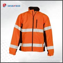 Factory manufacturer custom 3m hi vis safety reflective workwear overalls china