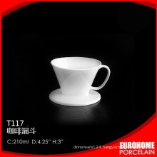 new arrival durable super white ceramic cup for dinnerware