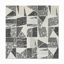 Cheap Price White And Red Terrazzo Flooring Polished Terrazzo Floor Tiles