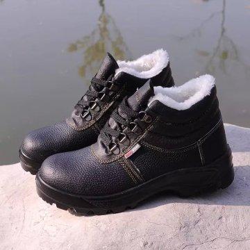 Промышленные сильные и профессиональные PU / кожаная подошва Рабочая защитная обувь