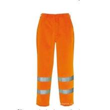Высокая видимость безопасности брюки, полиэстер Оксфорд ткань, ванной/АНСИ