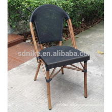 TC- (5) Chaise moderne en tissu teslin / chaise à manger en textile